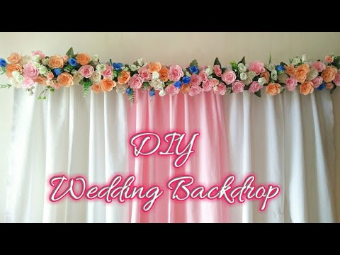 Wedding Decor Backdrop | Diy