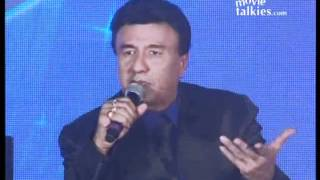Asha Bhosle, Anu Malik, Sunidhi Chauhan And Salim Merchant At Launch Of