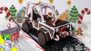 Gingerbread Jeep  How to Make Gingerbread Creations  Gingerbread Challenge