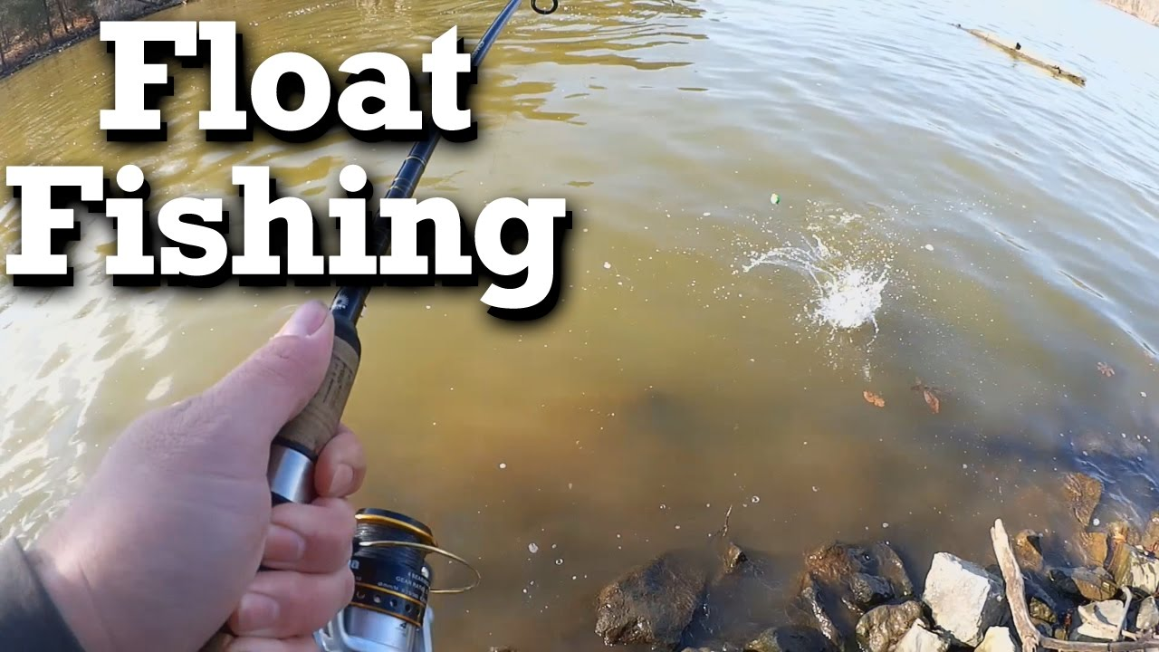 Float fishing artificial baits for winter bluegill and ...