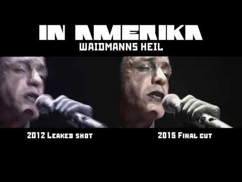 Rammstein  Waidmanns Heil In Amerika Comparison