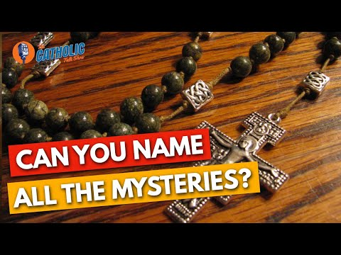 Guess Who Can't Name All 20 Mysteries of the Rosary?
