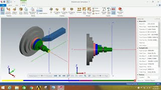 Lathe operations by using mastercam 2018.|| LATHE OPERATIONS IN MASTERCAM 2018.