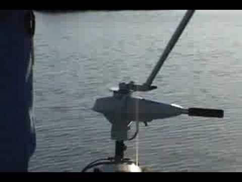 360 Degree Trolling Motor Extension Handle Youtube
