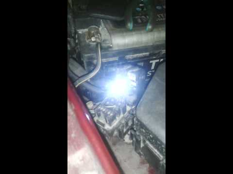 Диагностика с помощью светодиода Mazda 626 GE 1.8/105, 1996