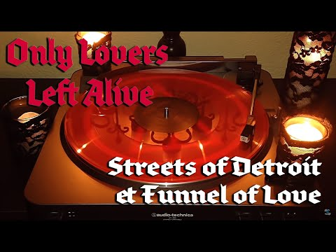 Only Lovers Left Alive (OST) - Streets of Detroit & Funnel of Love - Translucent Blood Red Vinyl LP