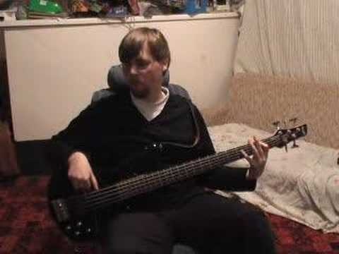 "Thrice - ""The Melting Point of Wax"" Bass Cover"