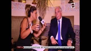 احلى النجوم - اللواء خالد محافظ جنوب سيناء كلنا امل فى استقبال السياحة الخارجية