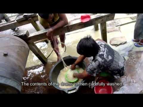 Goldmining in Sulawesi