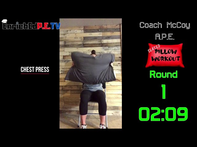 Coach McCoy- A.P.E.: Pillow Workout (Seated)
