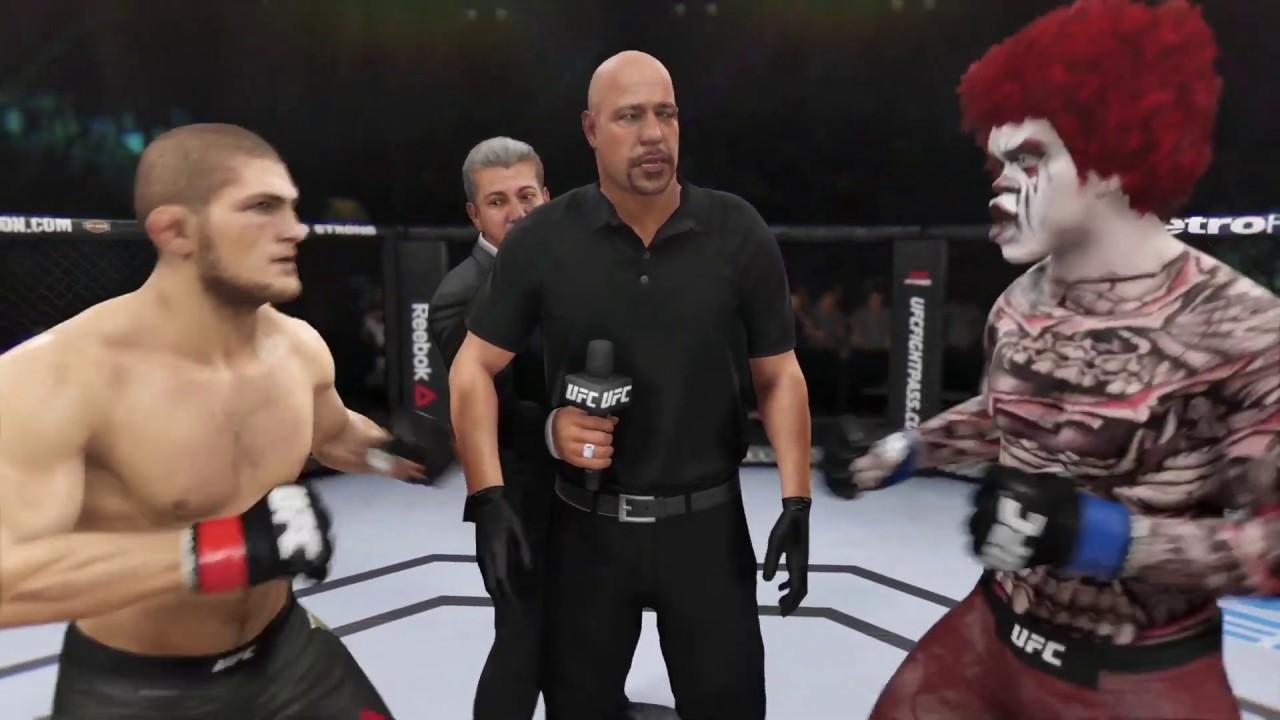 Khabib vs. Sad Clown - EA Sports UFC 3
