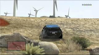 GTA5 pościg policyjny/police chase