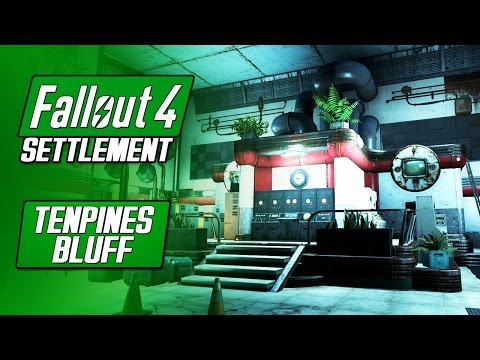 TENPINES BLUFF SECRET MILITARY FACILITY - Fallout 4 PS4 Mods - Undernier's Overhaul Project