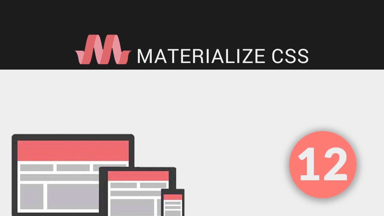 12 - Tutoriales Materialize - Slider Parallax & Media CSS