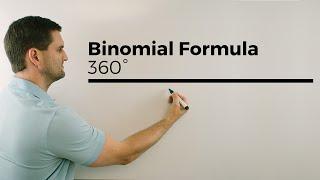 Binomial Formula, 360 degree MATH, YouTube Space Berlin, Math by Daniel Jung
