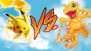 Digimon v.s Pokemon ¿Cuál es mejor?