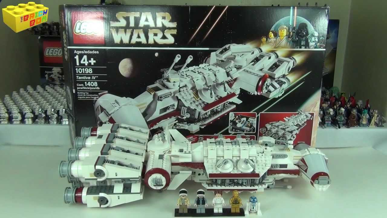 Rewind Review Lego Star Wars Tantive Iv Set 10198 Review Youtube