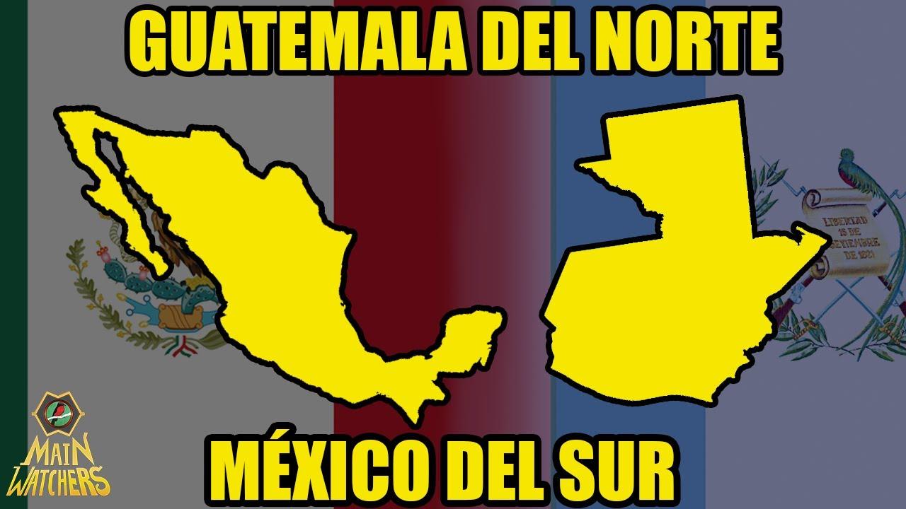 En qué se PARECEN MÉXICO y GUATEMALA?