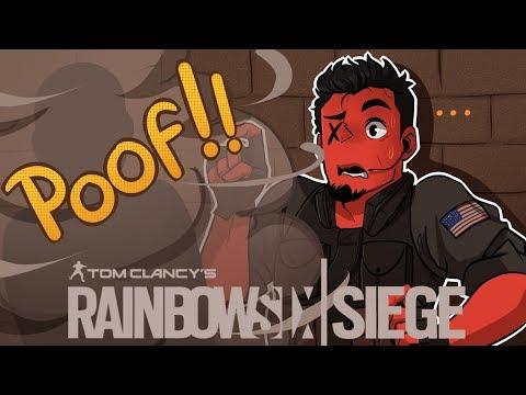 CRAZY GLITCH ON PLANE! | Rainbow Six: Siege (Dude Just Vanished?)