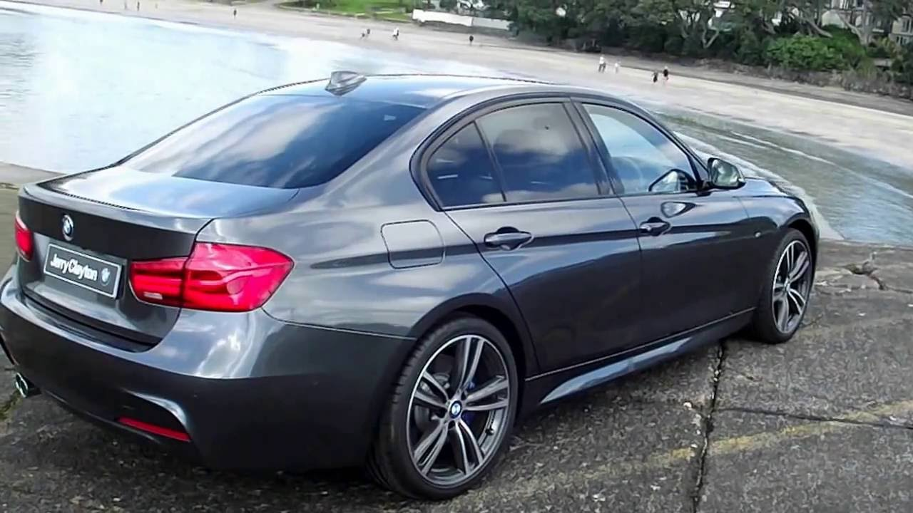 2016 bmw 320i sedan m sport youtube. Black Bedroom Furniture Sets. Home Design Ideas