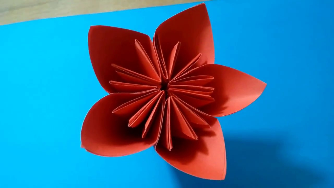 Simple life hacks for kids to make an origami flower for simple life hacks for kids to make an origami flower for kusudama flower ball dhlflorist Images