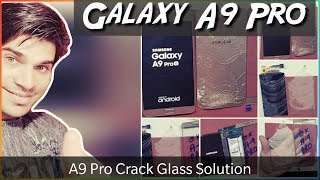 Samsung Galaxy A9 Pro Crack Glass Only Replacement | DISASSEMBLY | BATTERY | CHARGING PORT