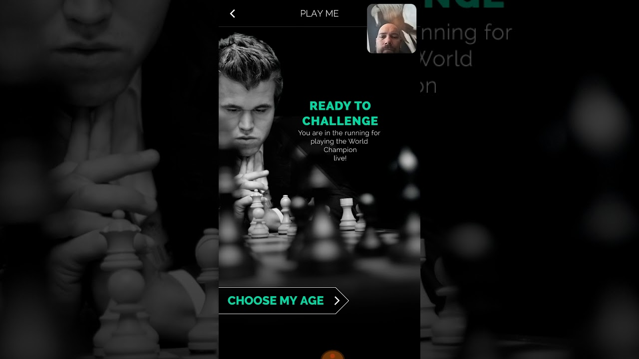 Playing Chess against the Play Magnus App - Ages 6 5-7 5