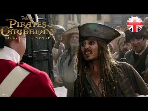 PIRATES OF THE CARIBBEAN | Salazar's Revenge CLIP – Guillotine | Official Disney UK
