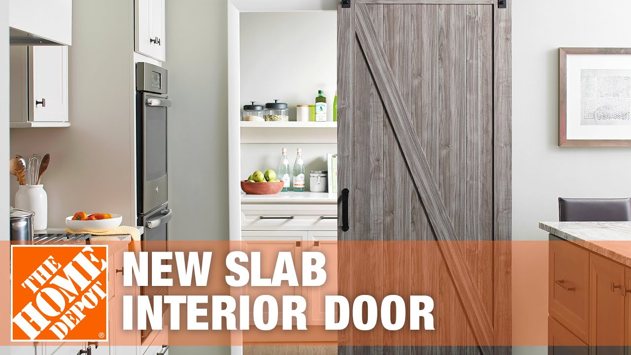 How To Measure For A New Slab Interior Door The Home Depot Youtube