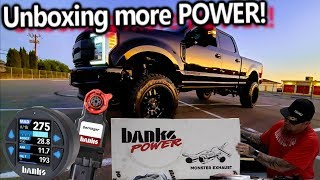 Unboxing More POWER! Ford F250 6.7 Banks Derringer iDash 1.8 Programmer + 5