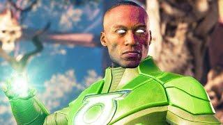 INJUSTICE 2 All John Stewart Intros Dialogue Character Banter 1080p HD
