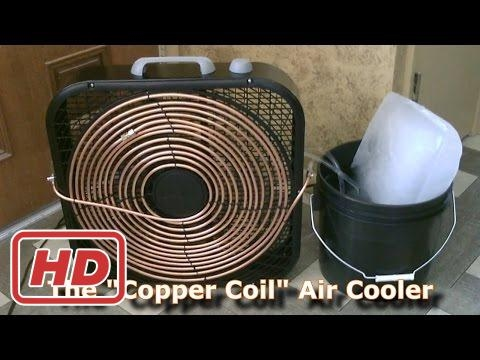 homemade ac the copper coil air cooler simple box fan conversion easy diy inventare. Black Bedroom Furniture Sets. Home Design Ideas