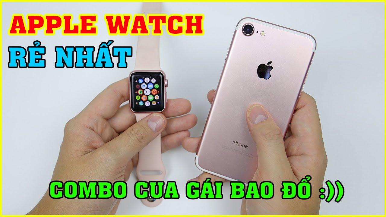 Thử mua Apple Watch giá Rẻ Nhất trên LAZADA, SHOPEE. Có nên mua không? | MUA HÀNG ONLINE