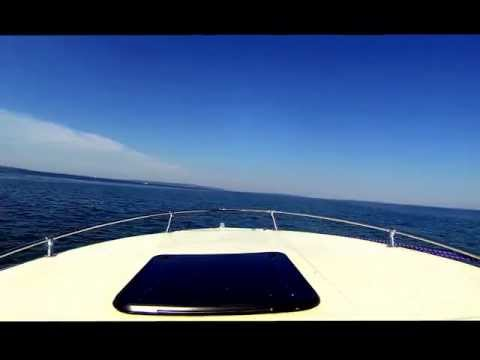 Boating fun on the Indian River and the Straits of Mackinac (Mackinaw) Go Pro Video