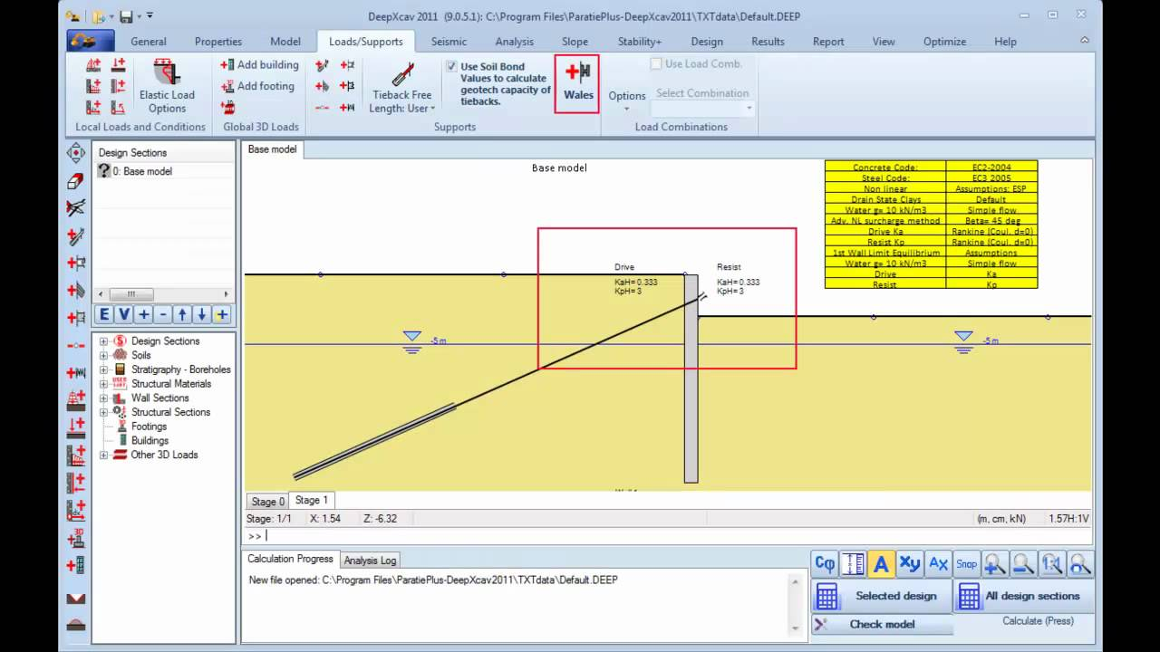 Free Shoring Design Software