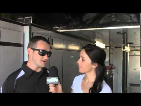 Natalie Sather Interviews Roger Crockett at Huset's Speedway