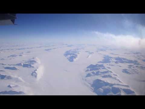 Flying Over Antarctica - The TransAntarctic Mountains