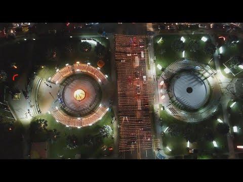 Navidad En La Capital De El Salvador Centroamerica