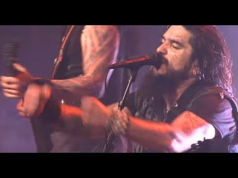 """Machine Head live video for """"Ten Ton Hammer"""" - Stereo Satellite new song """"Glass Houses"""""""