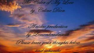 The Perfect Wedding Song - Celine Dion-The Color of My Love
