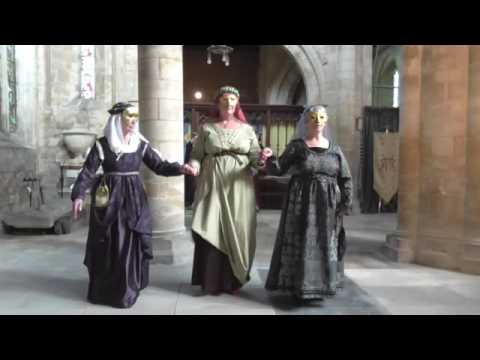 Grantham Danserye - 15th century historic dances