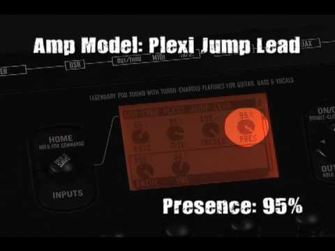 Line 6 Pod XT Pro - Live Presets - YouTube