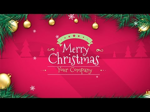 Christmas | After Effects template