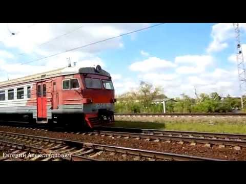 Электропоезд ЭР2к-1152 (ТЧ-22) пригородный поезд №6959, Москва-Каланчёвская -Тула-1.