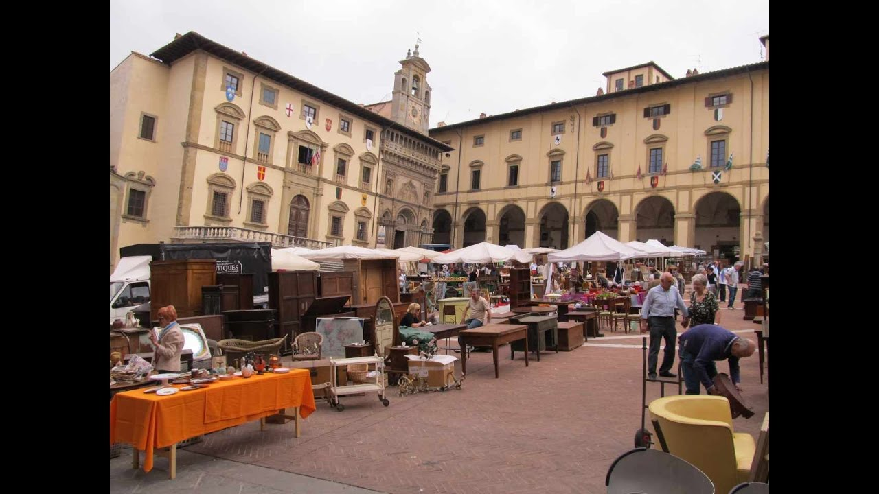 Arezzo toscana italy mercatino dell 39 antiquariato for Mercatini antiquariato 4 domenica