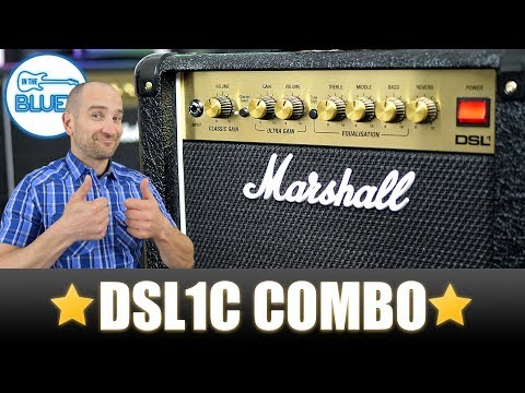 Marshall DSL1C Guitar Amplifier Combo Review (New for 2018)