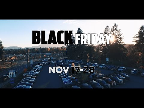 Black Friday is 12 days long at Island Ford