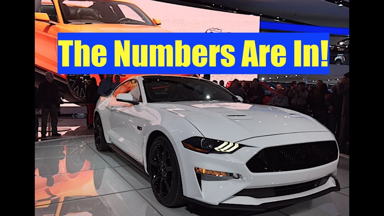 2018 mustang gt horsepower and specs fastest mustang gt yet