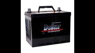 Запуск в мороз на 10-ти летнем аккумуляторе Delkor