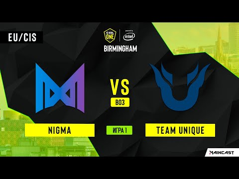 Nigma Vs Team Unique (Игра 1) | BO3 | ESL One Birmingham 2020
